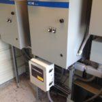 RTU installed by VFDs