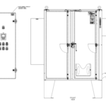 Well Control Panel Layout Drawing